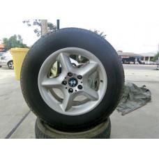 """ขายแม็ก BMW X5 ขอบ 17""""  พร้อมยางใหม่ใช้ยาวๆ ได้ครบทั้ง 4 วง จัดส่งได้ทั่วประเทศ"""