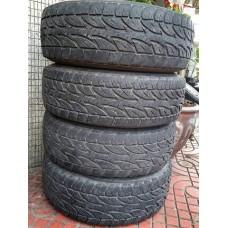 ยาง Bridgestone Dueler AT 694 ขนาดยาง 245-75R16 , มือสอง 4 เส้น(เฉพาะยาง)