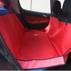 SALE ที่คลุมเบาะรถยนต์แบบคลุมเบาะหลังสีแดง